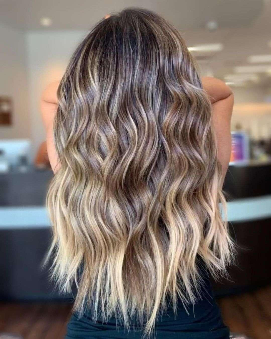 fryzury dla cienkich długich włosów