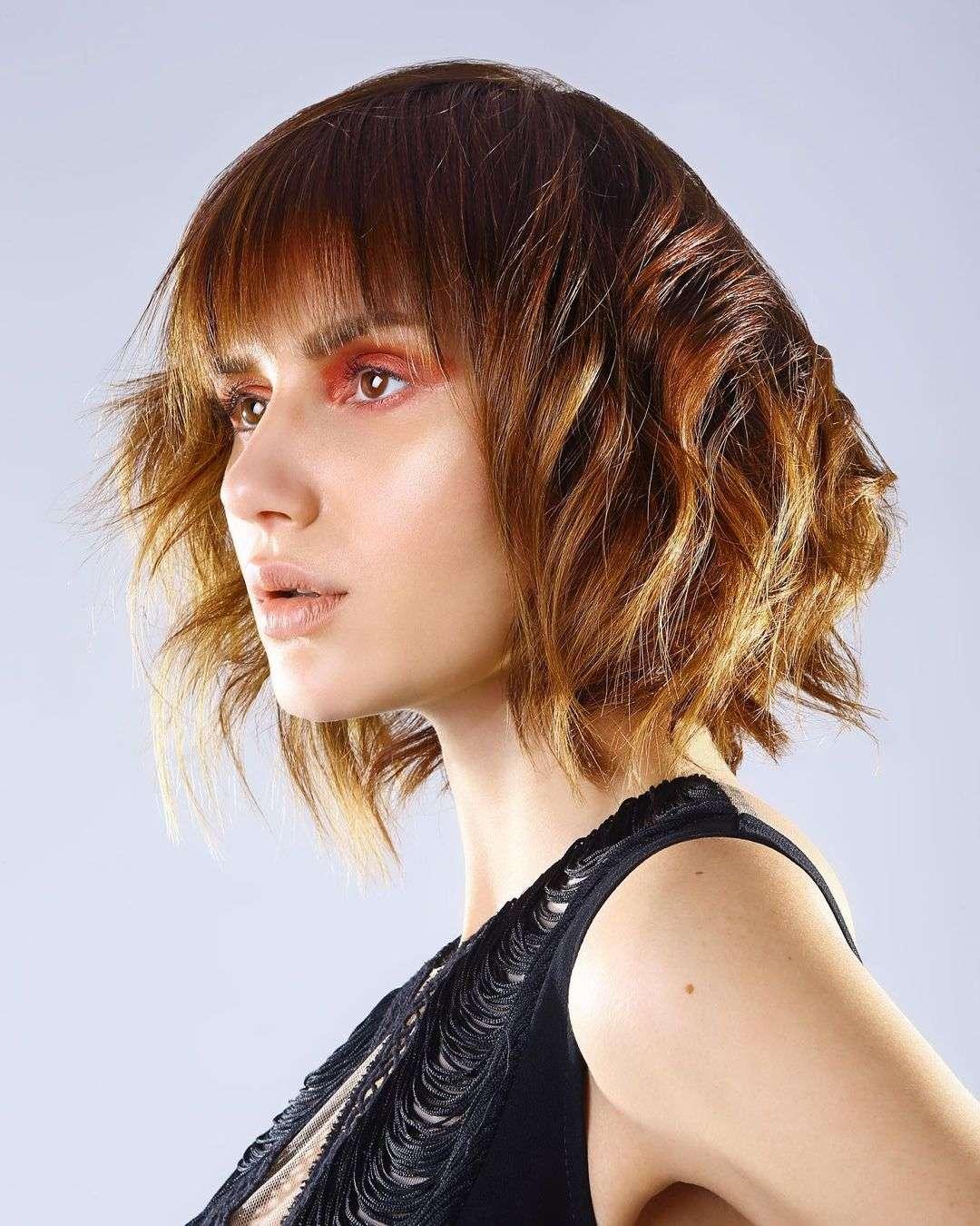fryzury dla cienkich krótkich włosów