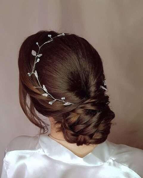 fryzury z warkoczem na wesele