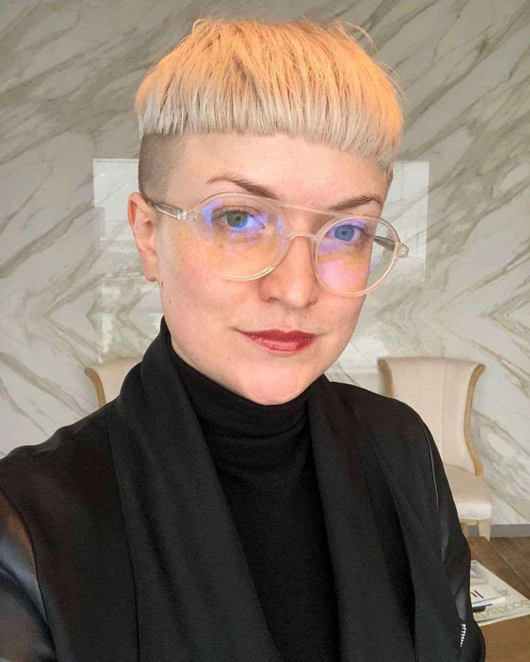 fryzura pieczarka zdjęcia