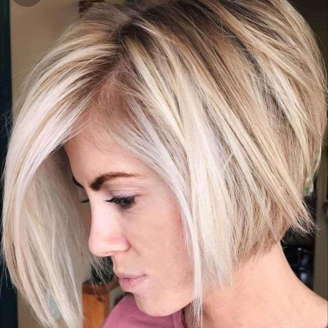 fryzury dla cienkich włosów z grzywką
