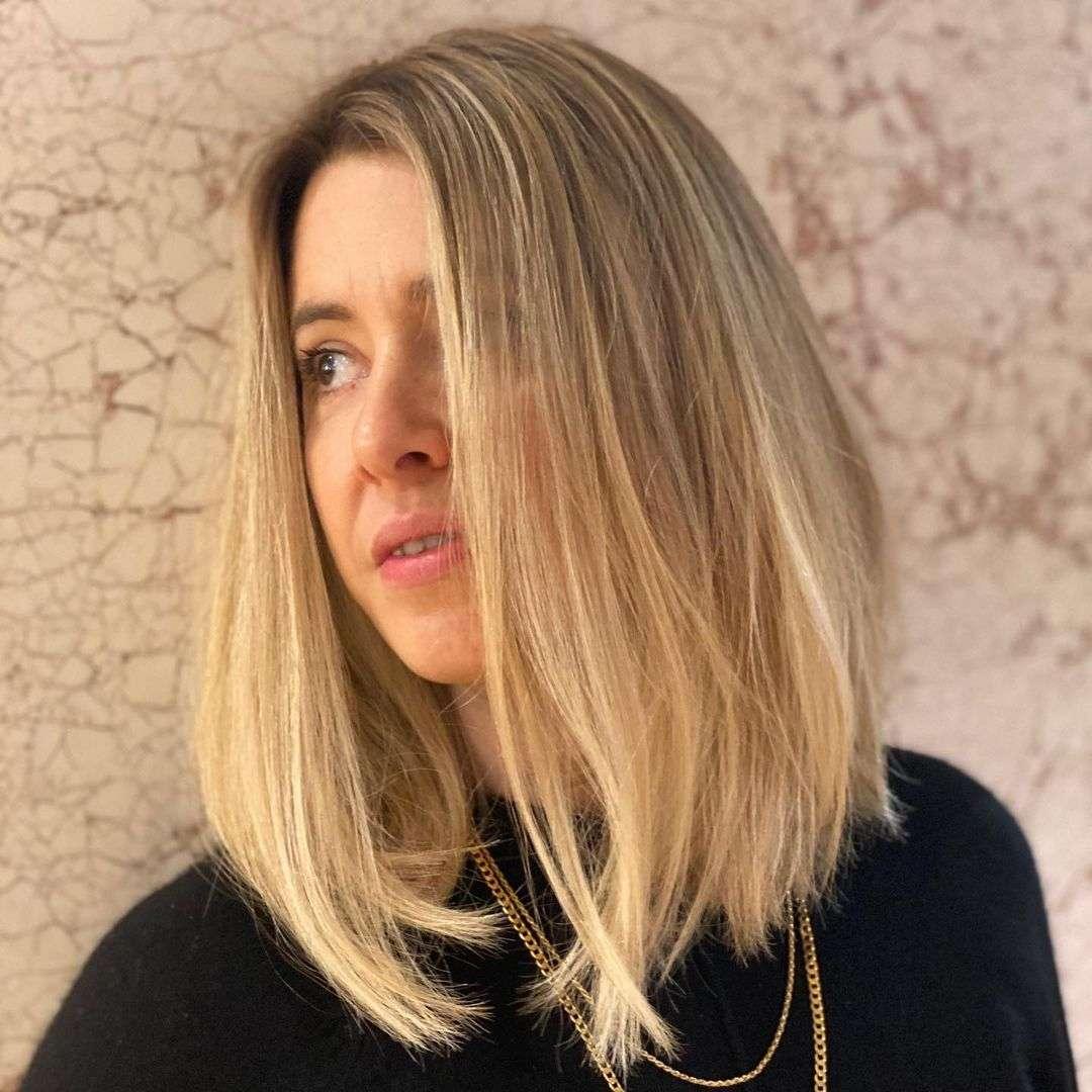 fryzury dla kwadratowej twarzy i cienkich włosów