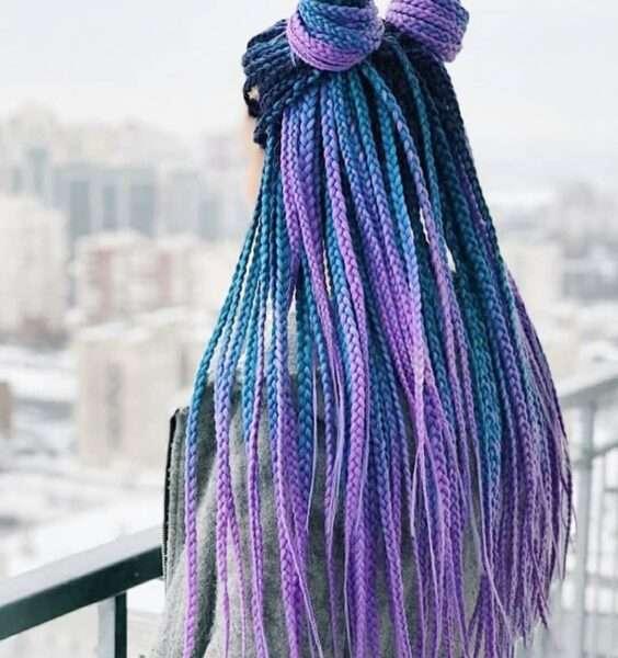 fryzury z warkoczy
