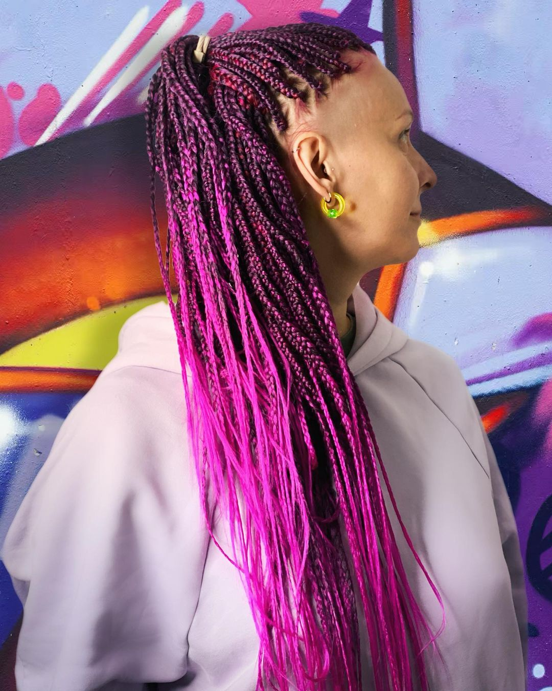 fryzury długie włosy upięcia z warkoczem