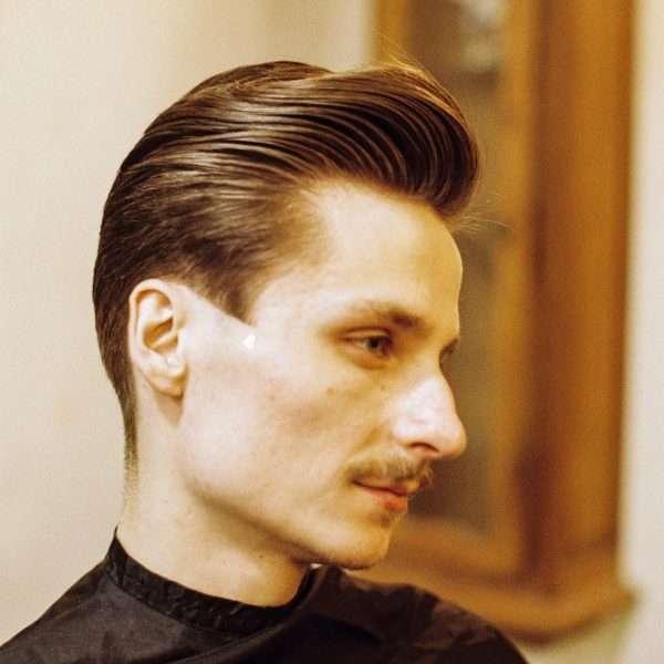 fryzury męskie średnie