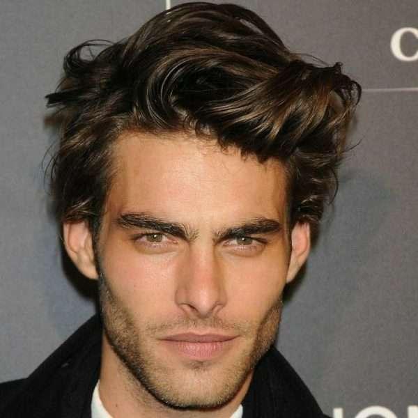 fryzury męskie długie włosy