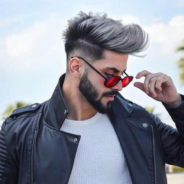 fryzury męskie półdługie