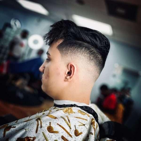 fryzury męskie modne