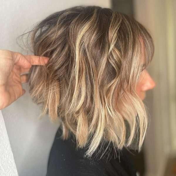 cortes de pelo corto en capas