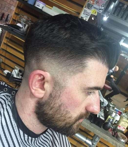 fryzura męska