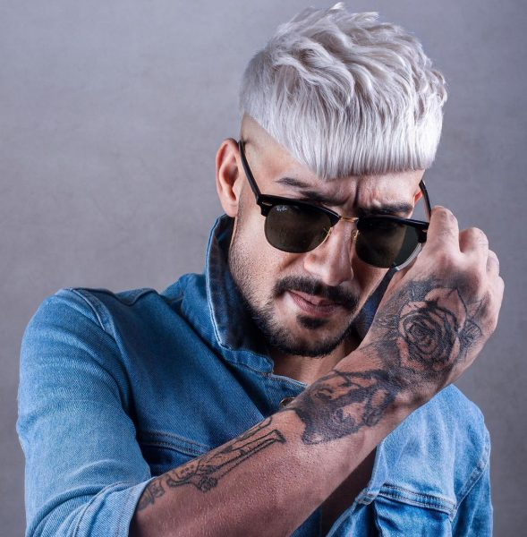 modne fryzury młodzieżowe męskie